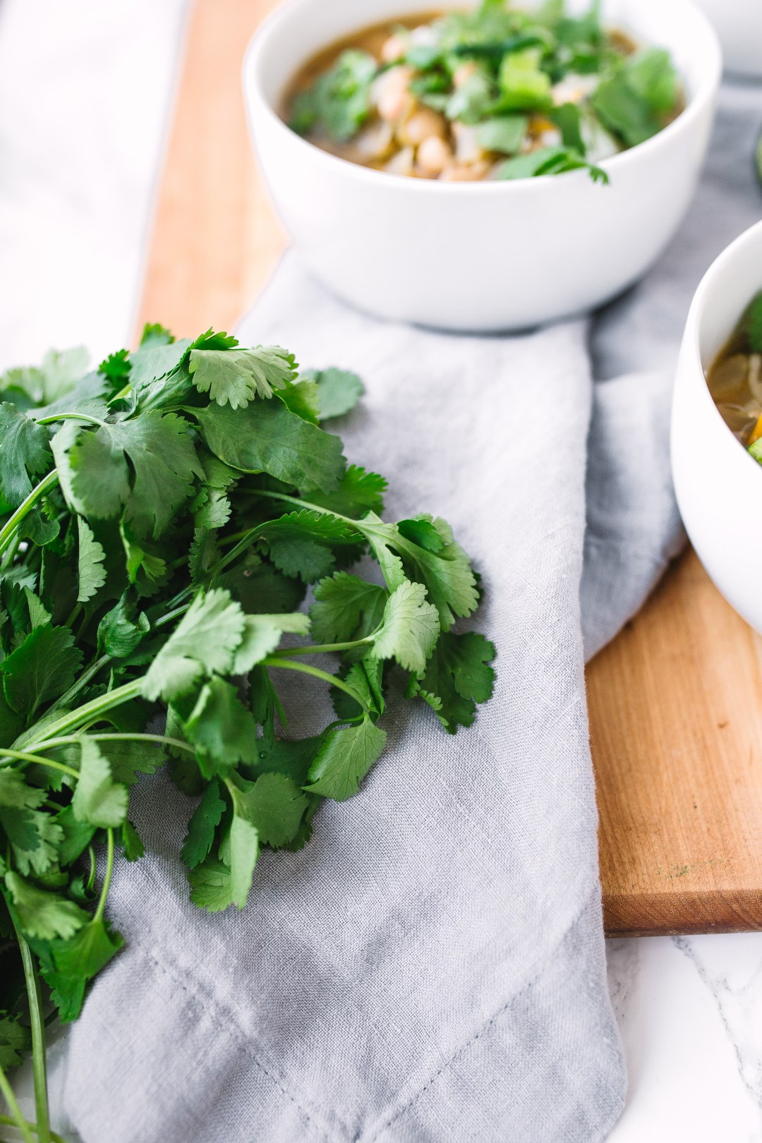 Cilantro for White Chicken Chili Recipe