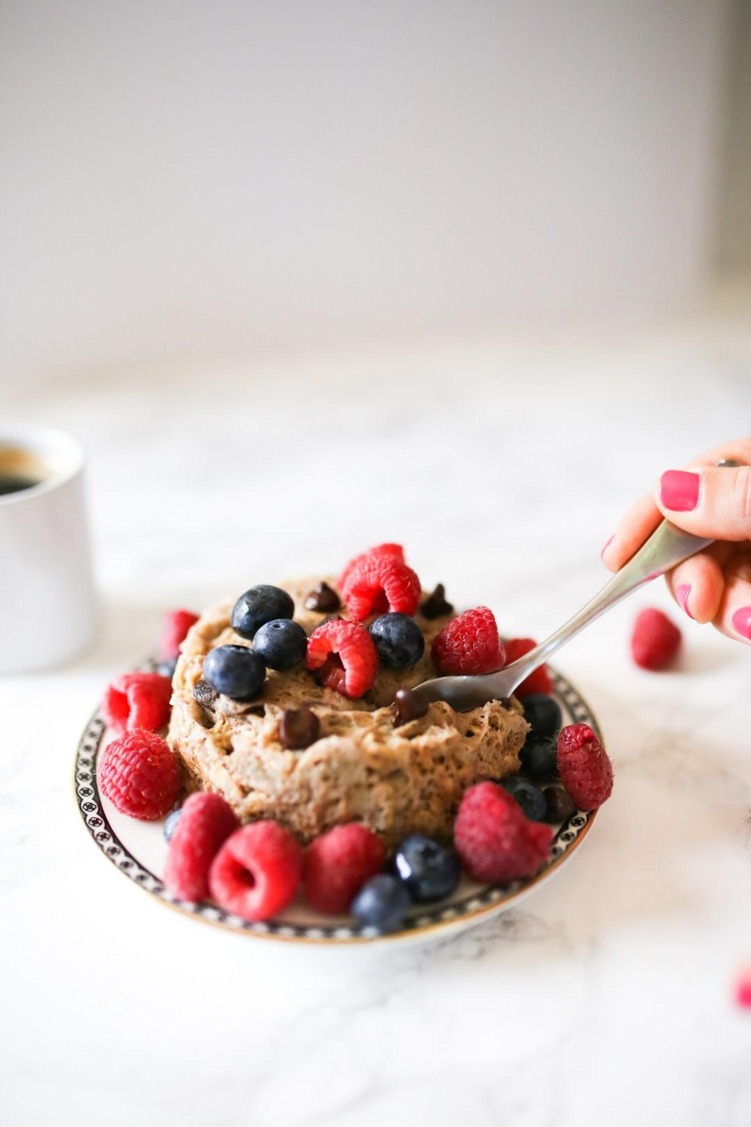 healthy breakfast oatmeal cookie