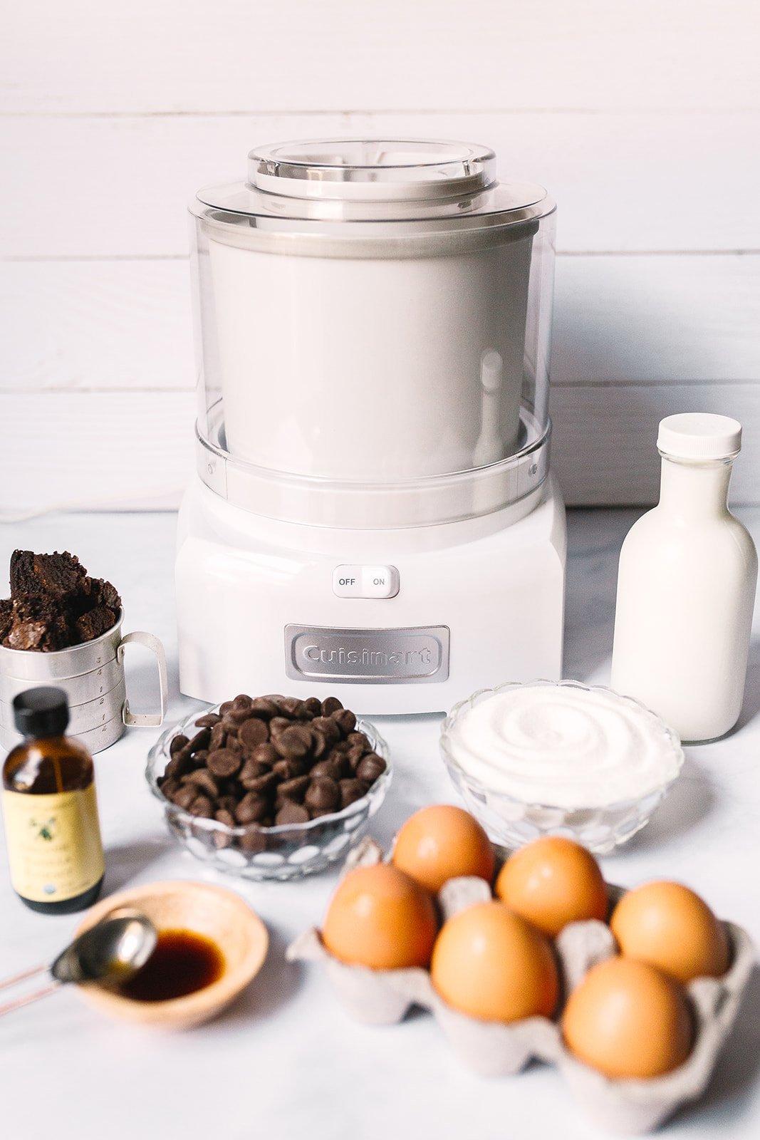 Brownie Ice Cream Recipe Ingredients
