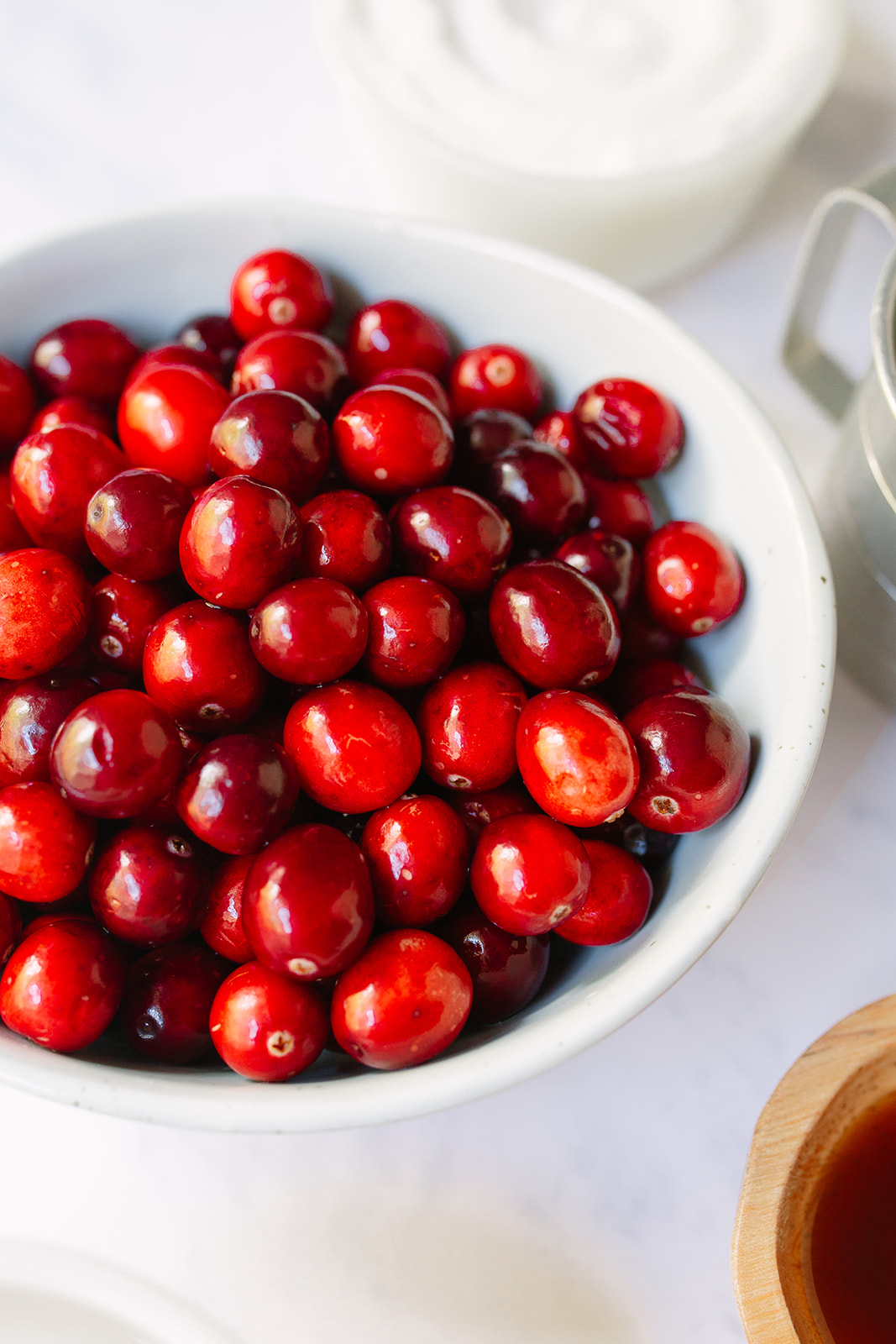Crockpot Cranberry Sauce with Bourbon