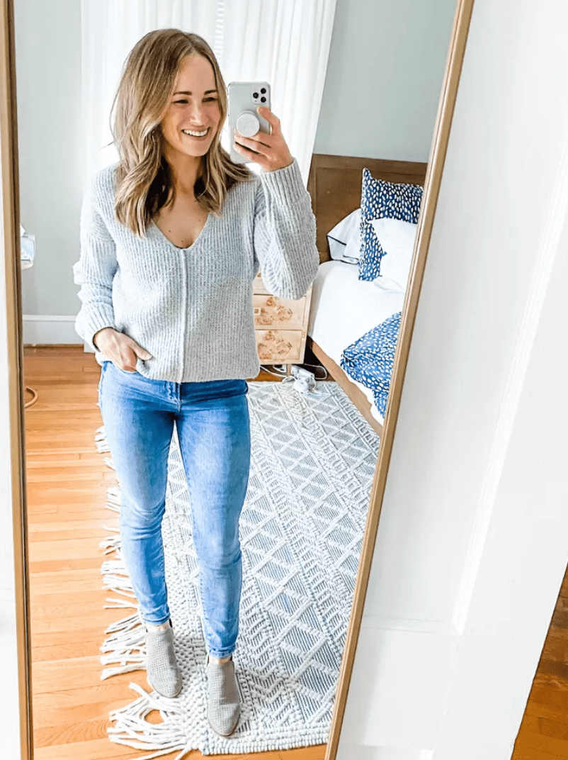 This outfit is perfect for working from home | February Outfit Roundup