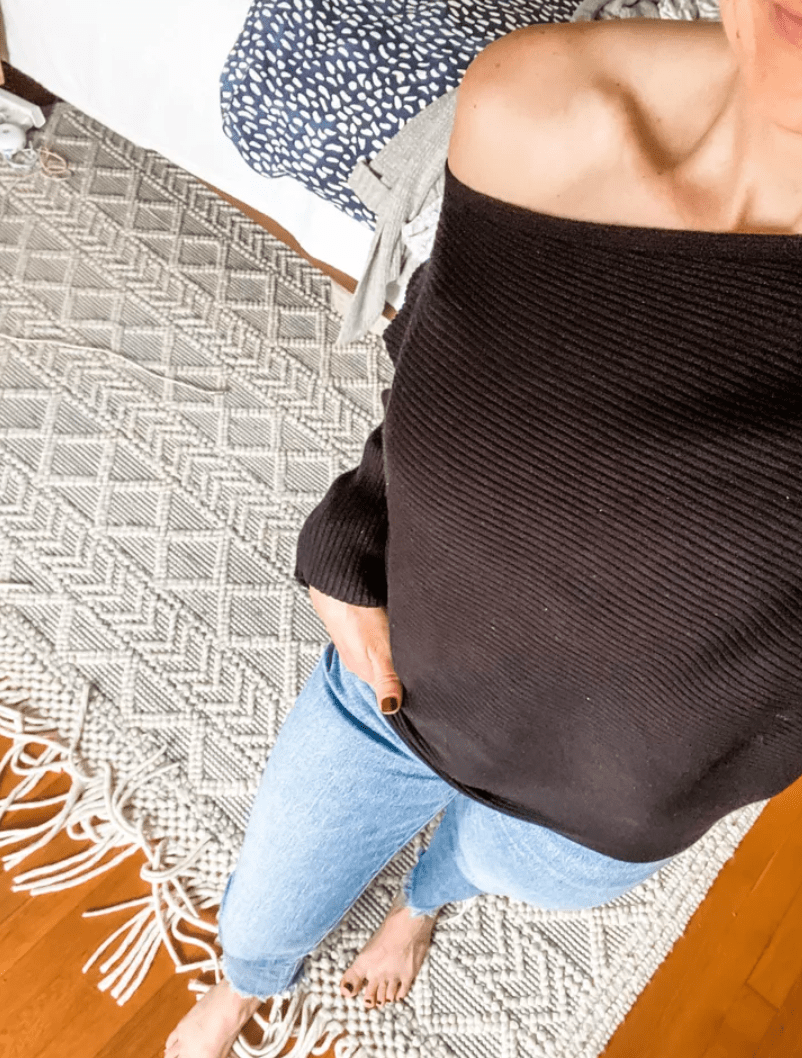 Madewell jeans. | March Outfit Roundup