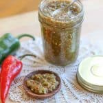 Fresh Hot Jalapeño and Garlic Relish