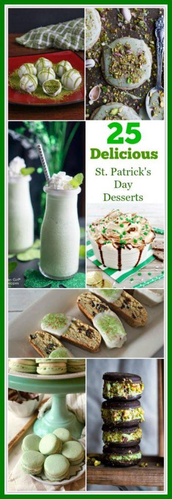 25 Delicious St. Patrick's Day Desserts