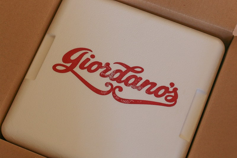 Giordano's Famous Stuffed Pizza Delivered to Your Door