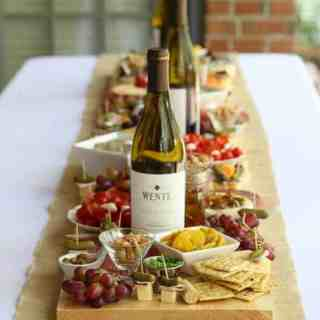 How to Make an Antipasto Board Table Runner
