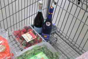 Ingredients for Red, White, and Blue Sangria at BJ's Wholesale Club #ad