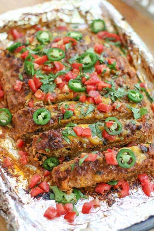 If you like a little spice, you will love this Mexican Turkey Meatloaf Recipe. While it is filled with healthy ingredients, the incredible flavor combination will amaze you. This will become your favorite go-to meatloaf recipe!