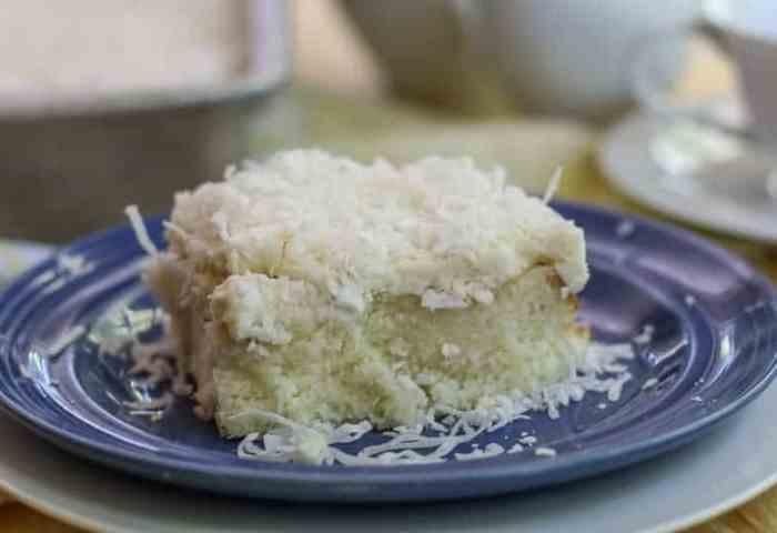 The Best Coconut Cream Poke Cake Recipe A Forks Tale