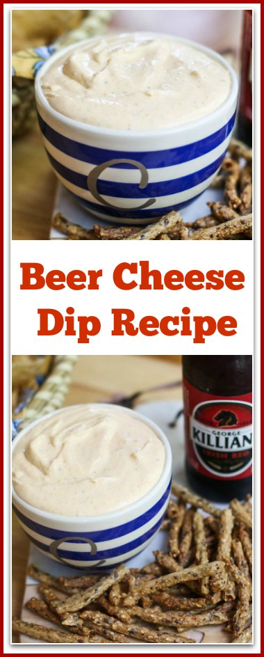 This Beer Cheese Dip Recipe is simple and easy to make. It is a delicious crowd pleaser perfect for snacking, parties, and cookouts.