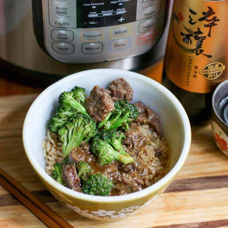 pressure cooker beef and broccoli recipe