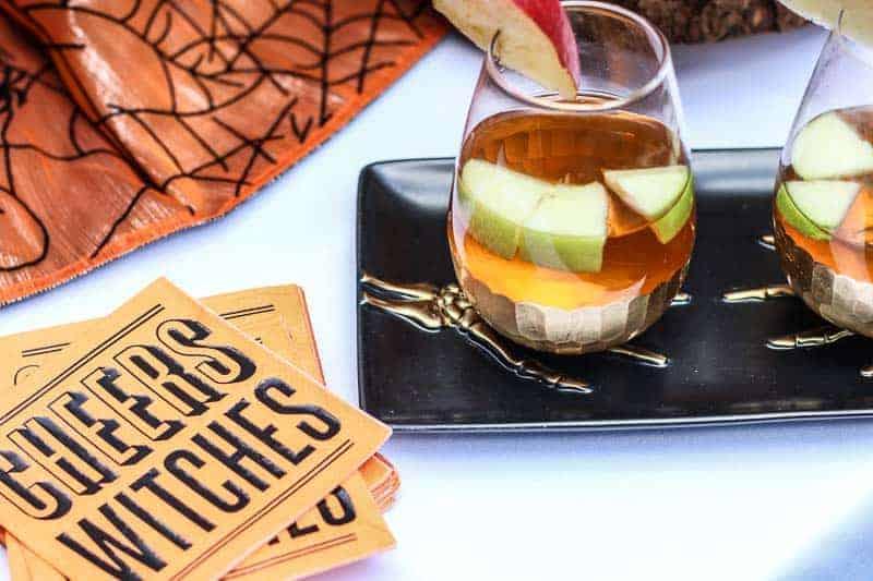 Halloween Party cocktail #ad #worldmarkettribe #wmhalloween