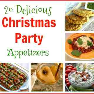20 Delicious #Christmas Party #Appetizers