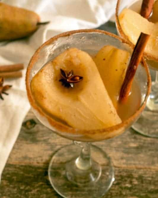 Poached Pears in White Wine from Everyday Eileen