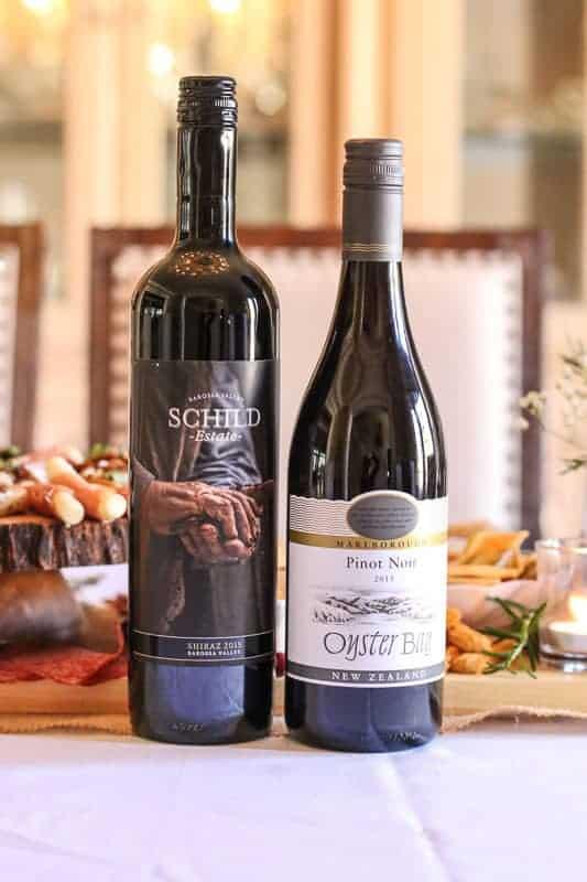 Schild Shiraz & Oyster Bay Pinot Noir