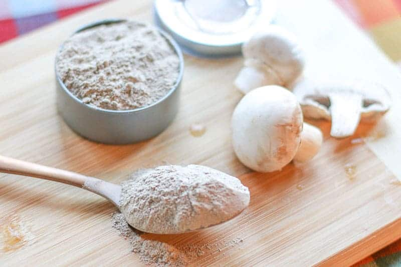 Making this mushroom salt is simple and easy. With only 3 ingredients, you can make your own batch. It is a great salt for gifts or to have on hand in your kitchen.
