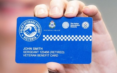 Police Veteran Benefit Card Launched in Victoria