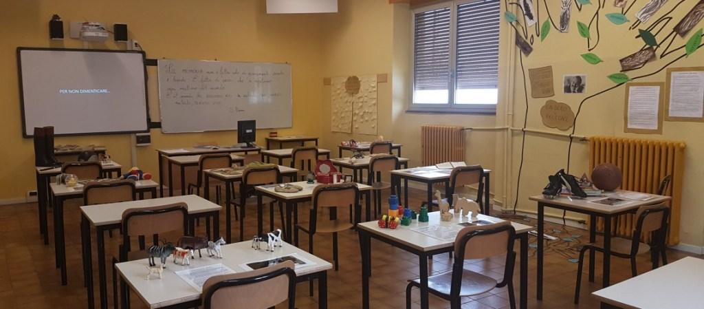 "AFP Patronato San Vincenzo – ""La classe dei banchi vuoti"""
