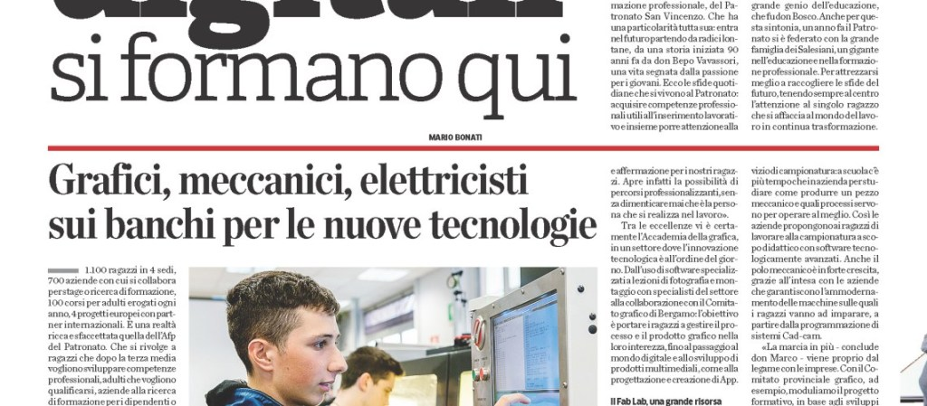 Skille – Gli artigiani digitali si formano all'AFP Patronato San Vincenzo