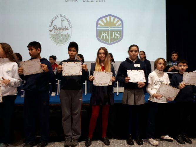 XXI Certamen Provincial de Olimpiadas Matemática Ñandu - Mención especial