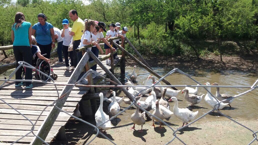 Visita a Los Juanes, Granja educativa y recreativa