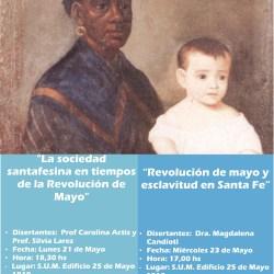 Ciclo de conferencias en conmemoración de los 208 años de la Revolución de Mayo