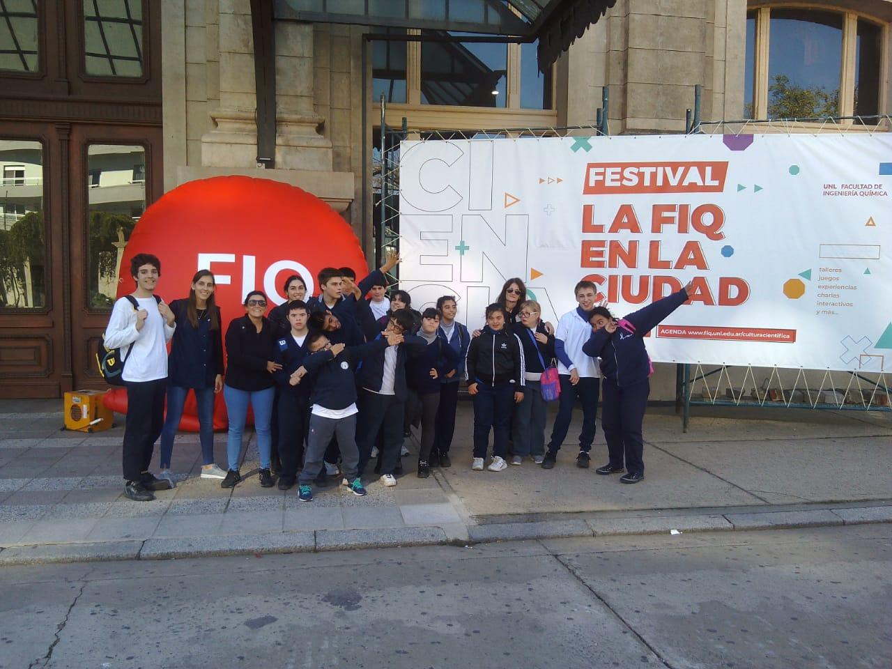 Visita al Festival la FIQ en la Ciudad