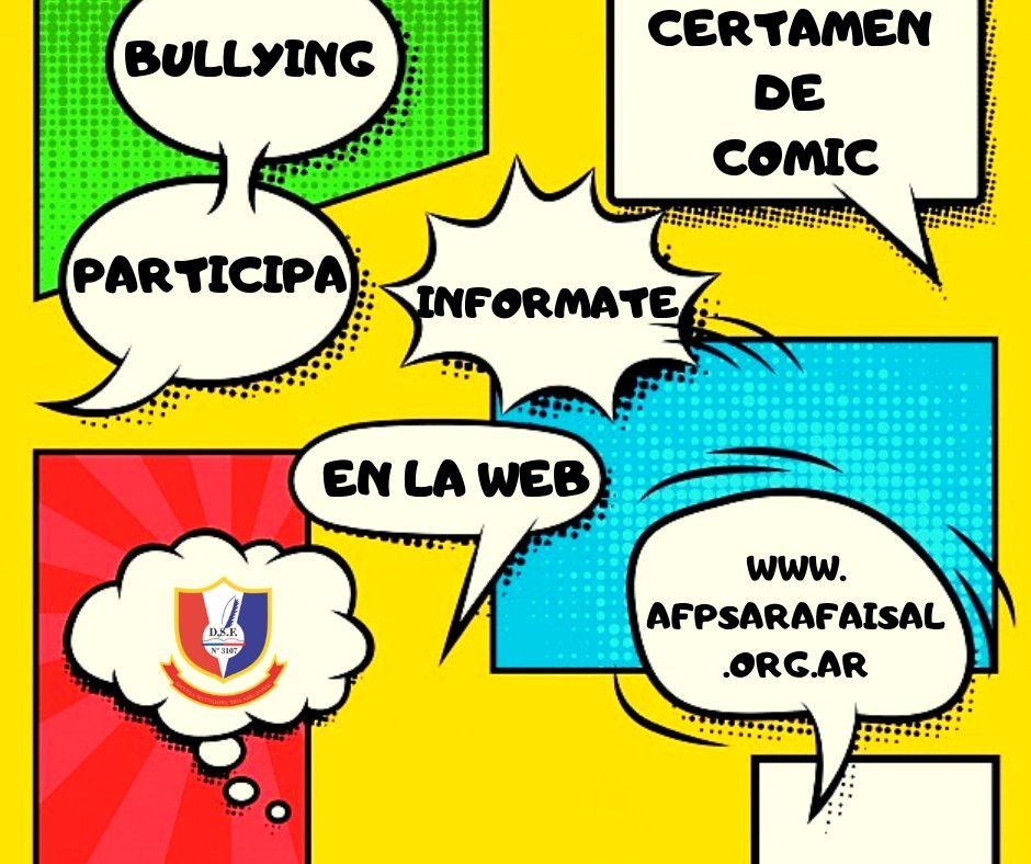 Certamen de COMIC sobre BULLYING