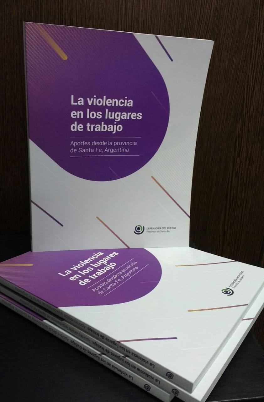 Nuevo material bibliográfico: La violencia en los lugares de trabajo.