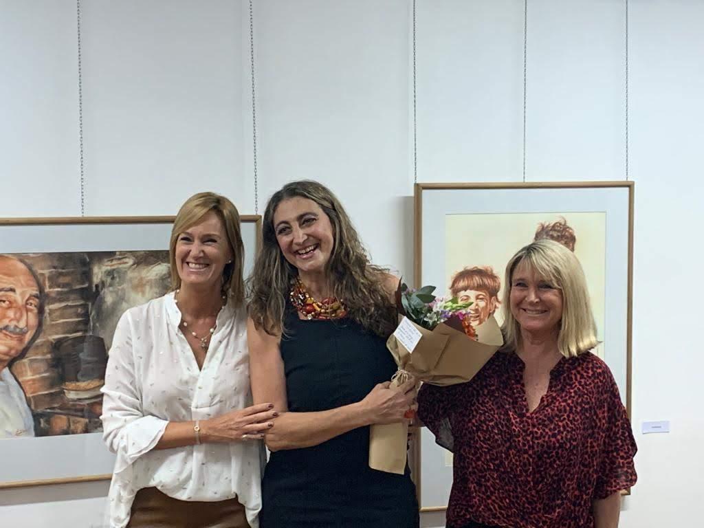 Inauguración de la Muestra «Retratos de mi familia – Ensayos»