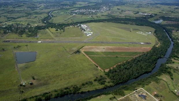 Camden airport has more than 8 hectares of surplus land.
