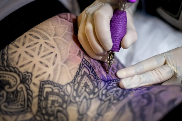 Tattoo inks used in Australia are not regulated