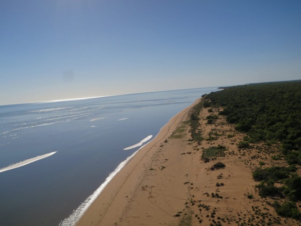 Wollogorang cattle station is on the shores of the Gulf of Carpentaria in Queensland and the Northern Territory.