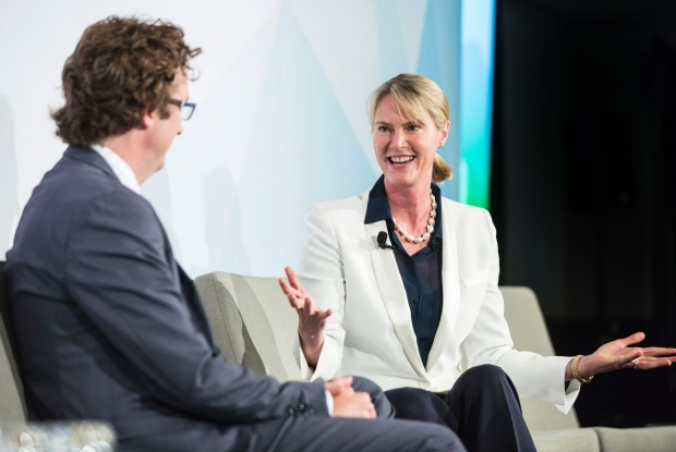 ANZ is entering a new digital era under former Google Australia boss Maile Carnegie.