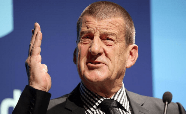 Jeff Kennett has vowed not to pay Amber Harrison another cent.
