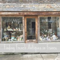 Finding French Antiques and Vintage Items in France
