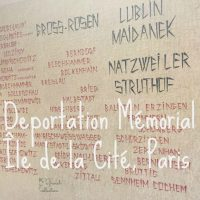 Deportation Memorial Île de la Cité, Paris