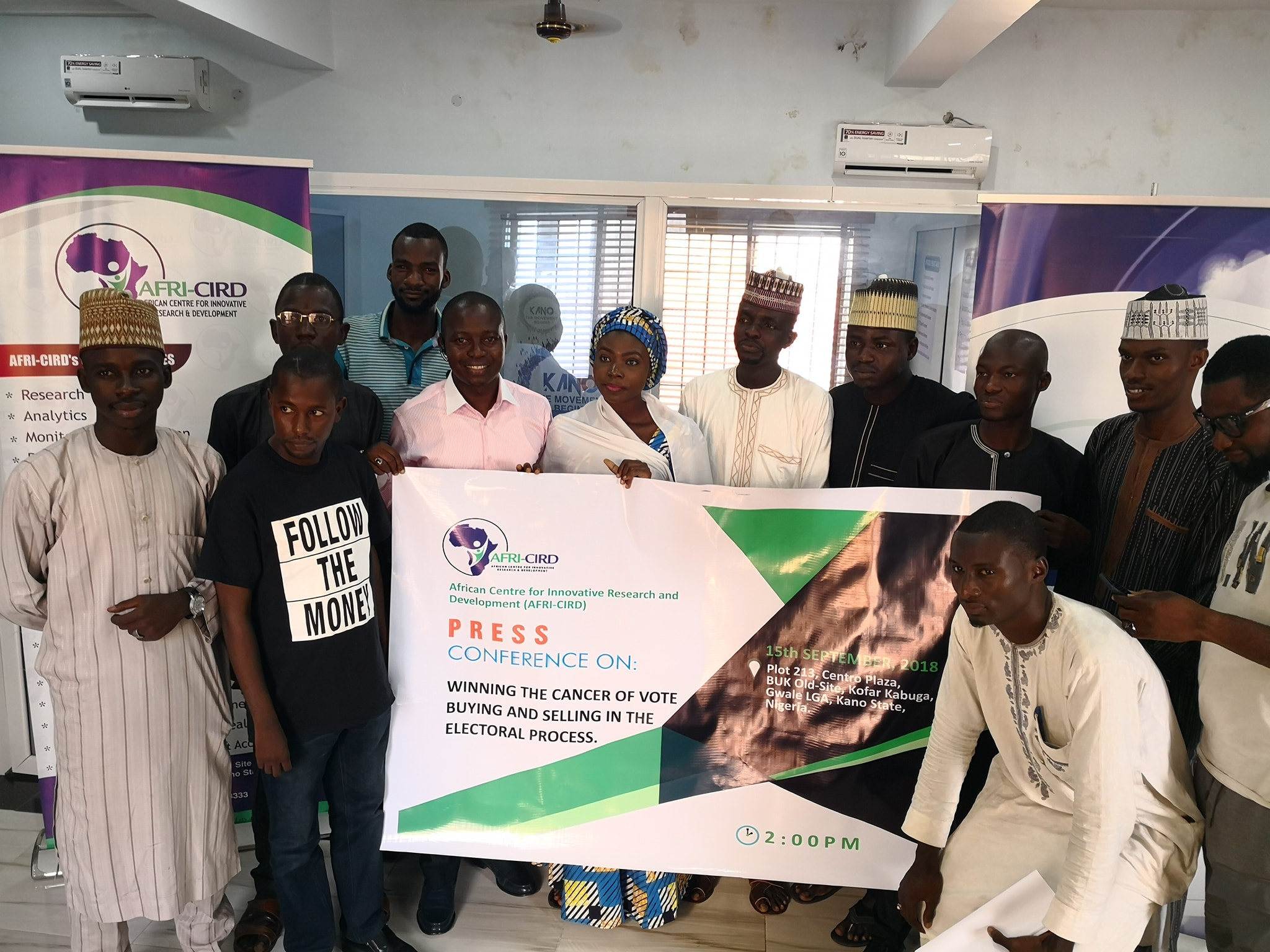 Winning the Cancer of Vote Buying and Selling In the Nigeria's Electoral Process – Press Conference