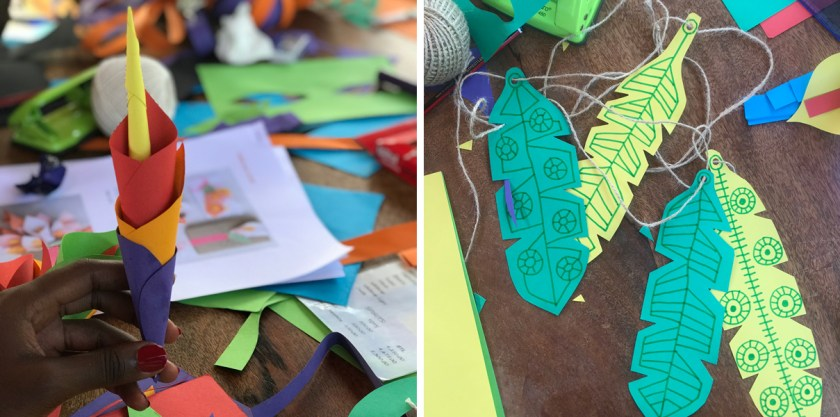 Afri-love-Connection-Club-Self-care-Event-Paper-Craft