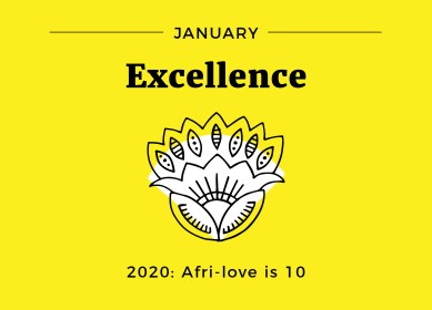 Afri-love is 10 January Excellence