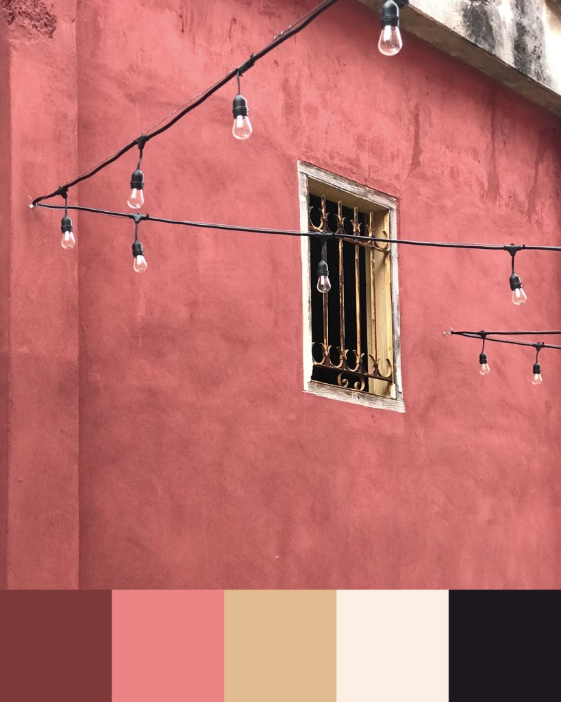 Cuban colour palette inspiration: Havana walls