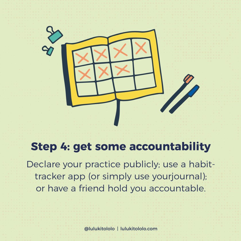 Self-Care-Accountability