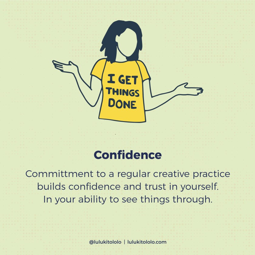 Wellness Benefits Creative Practice Confidence
