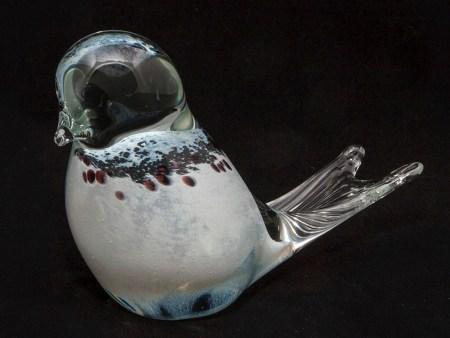 White Glass Bird