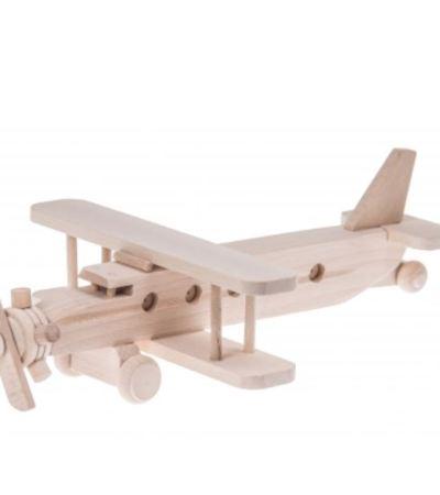 wood plane toy