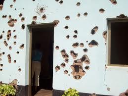 Casa mitragliata