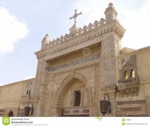 chiesa copta al Cairo
