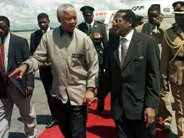 Mandela e Mugabe