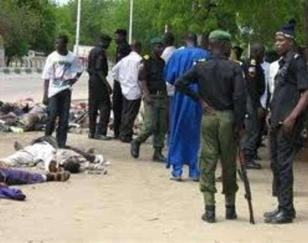 Morti a maiduguri-nigeria