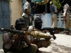 Militanti con RPG